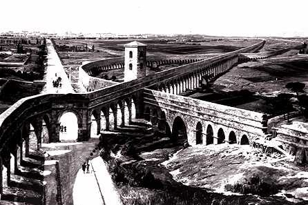 Plan of Roman aqueductscropped