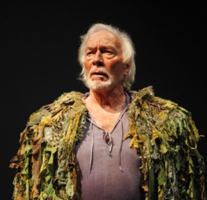 Christopher Plummer as Prospero in The Tempest. Photography by David Hou.