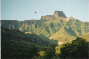A mountain to climb. The eagle eye view
