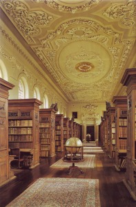 The Queen's Library Oxford (for my husband's pleasure- his stamping ground)