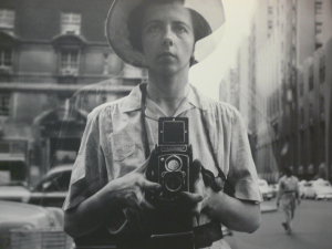 A self-portrait of Vivian Maier