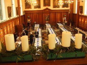 Temple Hall for Dinner with the Templars