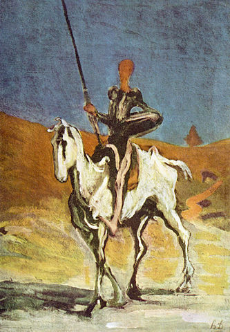 (Don_Quixote) by Daumier