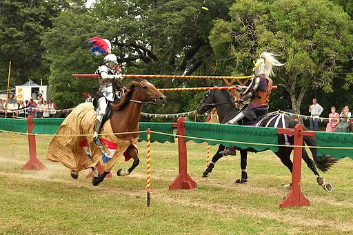 Knights_jousting,_lance_tips_breaking
